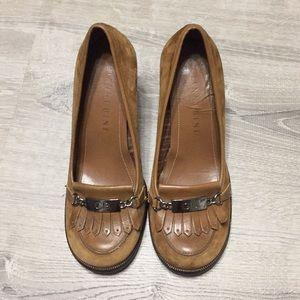 Gianni Bini brown leather shoes
